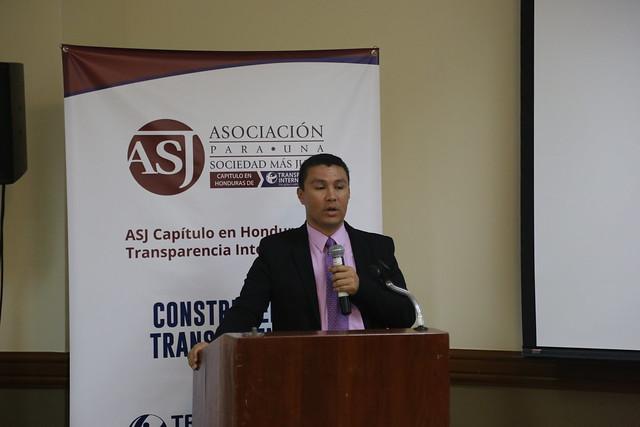 ASJ Honduras Presentación Indice Desempeño y Transparencia del Instituto de la Propiedad 2015 - 2016