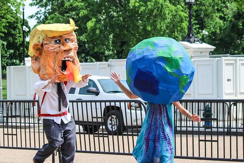 Trump chases planet | by Joe in DC