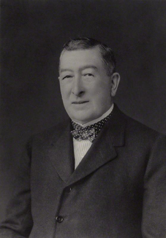 NPG x166985; Gilbert Greenall, 1st Baron Daresbury
