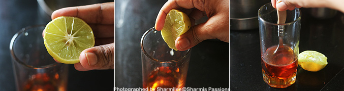 How to make Nannari lemon sarbath recipe - Step2