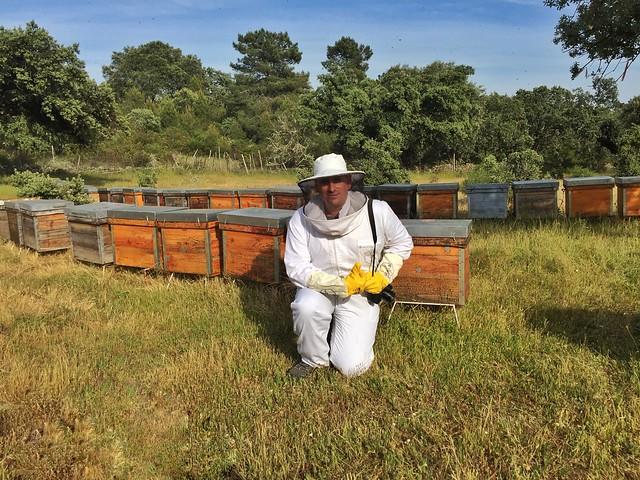Sele de apicultor en Las Hurdes (Cáceres)