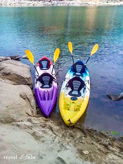 Paddle your Kayak with the blade to explore the mighty Umngot River