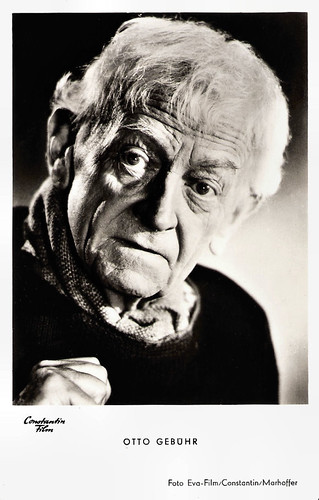 Otto Gebühr in Rosen-Resli (1954)