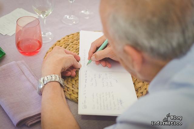 El libro de firmas