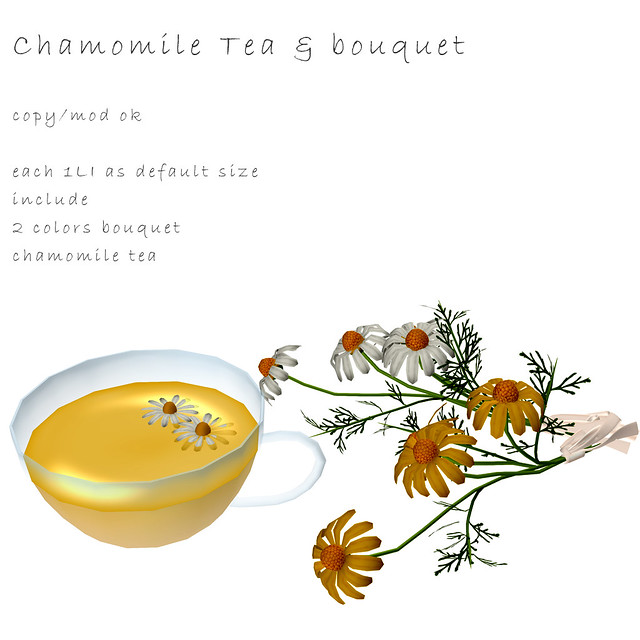 *NAMINOKE*Camomile tea and bouquet