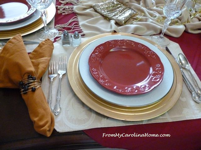 Broadway Tablescape at From My Carolina Home
