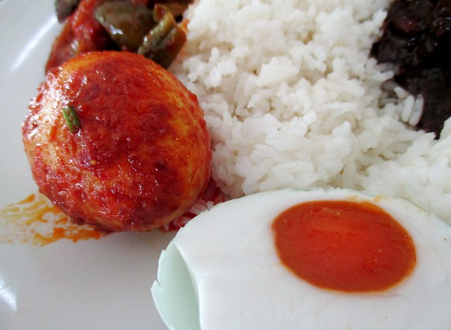 Sambal egg & salted egg