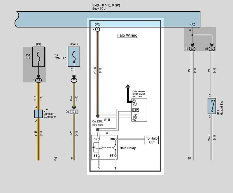 Morimoto XSB switchback halos Wiring - Toyota 4Runner Forum ... on halo lights diagram, halo control diagram, halo lighting, halo dimensions diagram,