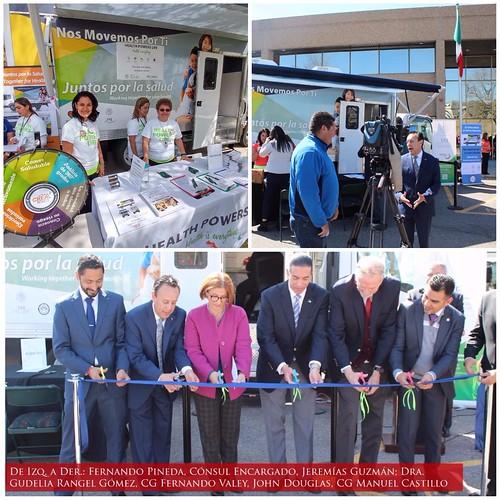 El Consulado General de México en Denver inaugura unidad móvil de salud