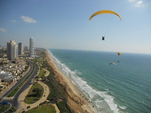Netanya Beach. From 3 Best Adventure Destinations in Israel