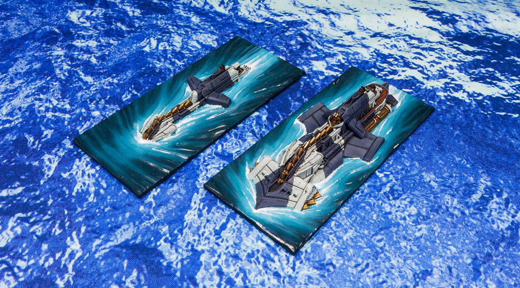 Dystopian Wars Kingdom of Britannia Vengeance Submarine