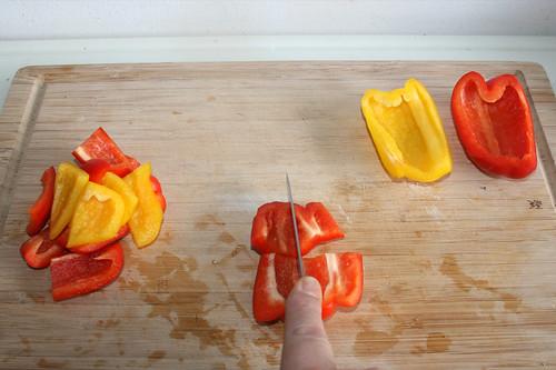 53 - Paprika grob zerkleinern / Hackle bell pepper