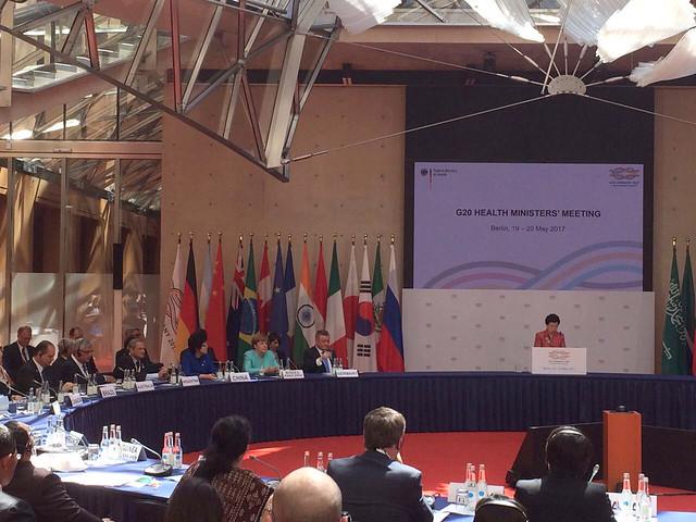 Reunião de Ministros da Saúde do G20. Berlim - Alemanha, 19/05/2017. Foto: Divulgação/MS | por Ministério da Saúde