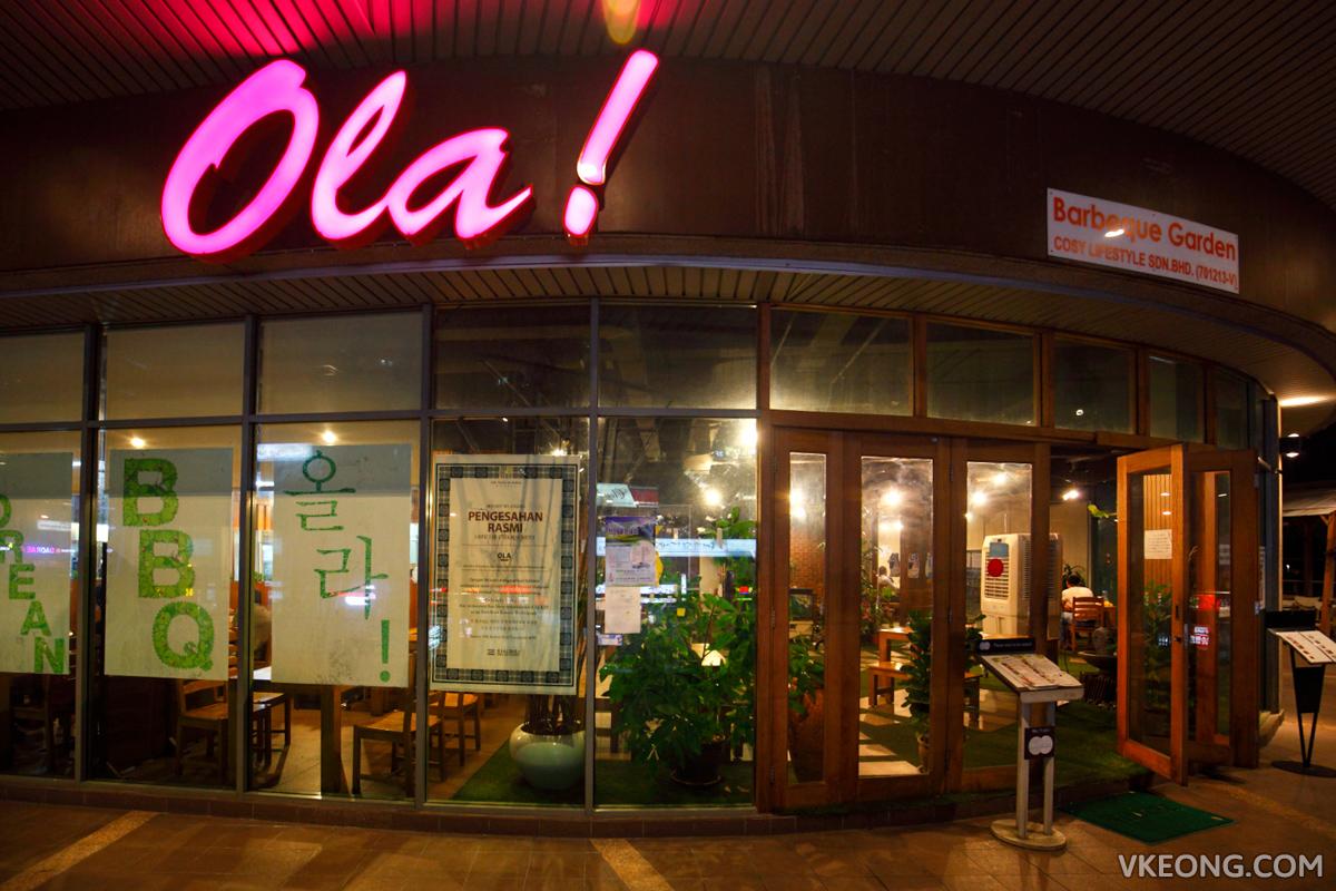 Ola Barbeque Garden Solaris Mont Kiara