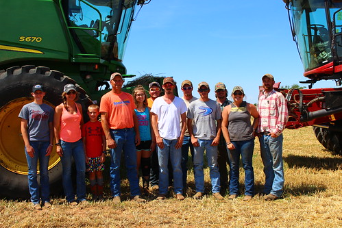 Anderson Harvesting teams up with C&K Harvesting! Such a fun time to get to know and cut alongside these guys.