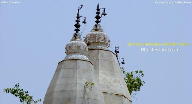 Shri Durga avtari Maa Narayani temple, श्री राणी सती दादी जी मंदिर (Shri Rani Sati Dadi Ji Mandir) inspired with Rani Sati Temple, Jhunjhunu.