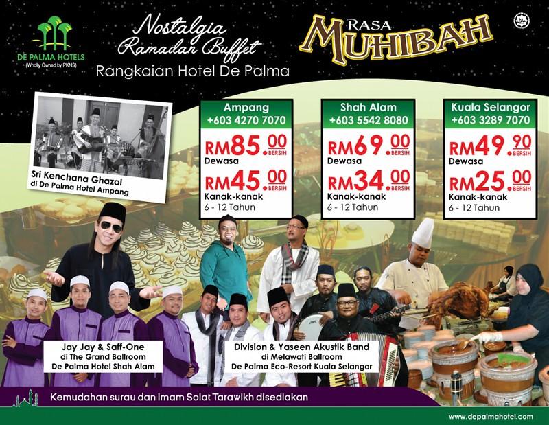 De Palma Hotel Ramadhan Buffet