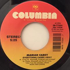 MARIAH CAREY:HERO(LABEL SIDE-B)