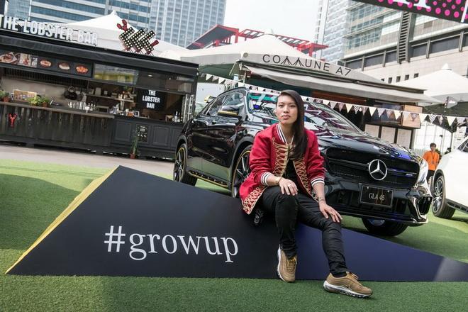 Miss Ko很榮幸能參與#growup的全球盛事,祈盼自己的成長故事,激勵新世代活出自己的態度!