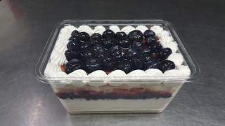 午茶點心 藍莓卡士達