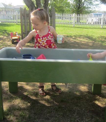 fun in the water table