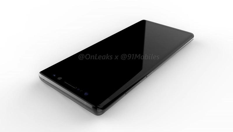 Samsung Galaxy Note 8 renders