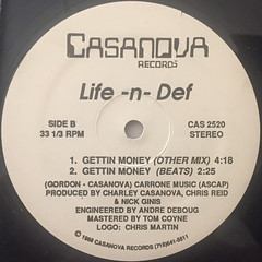 LIFE-N-DEF:GETTIN MONEY(LABEL SIDE-B)
