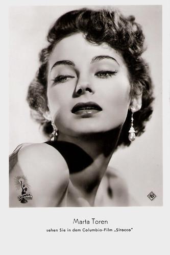Marta Toren in Sirocco (1951)