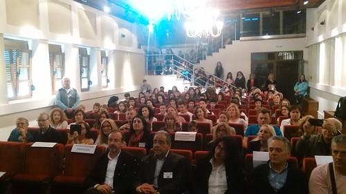 Παρουσία Θ. Μπέγκα σε εκδήλωση φιλοξενίας Ευρωπαίων καθηγητών του Γυμνασίου Περάματος