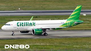 Citilink A320-251N msn 7603