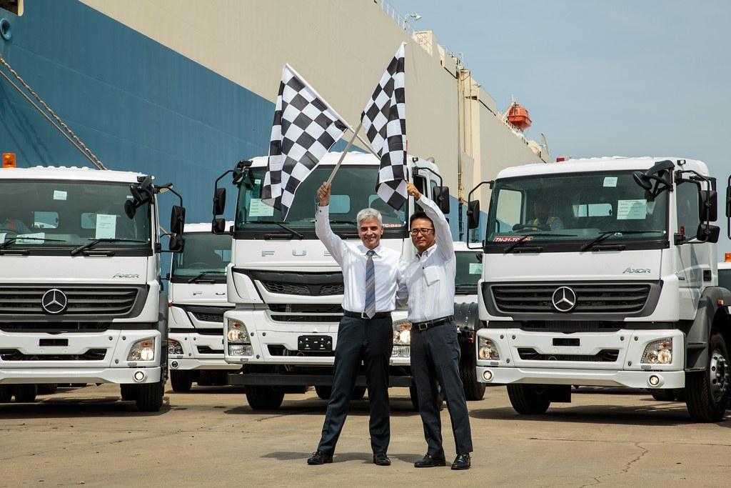 Daimler-India-Truck-Export-Milestone