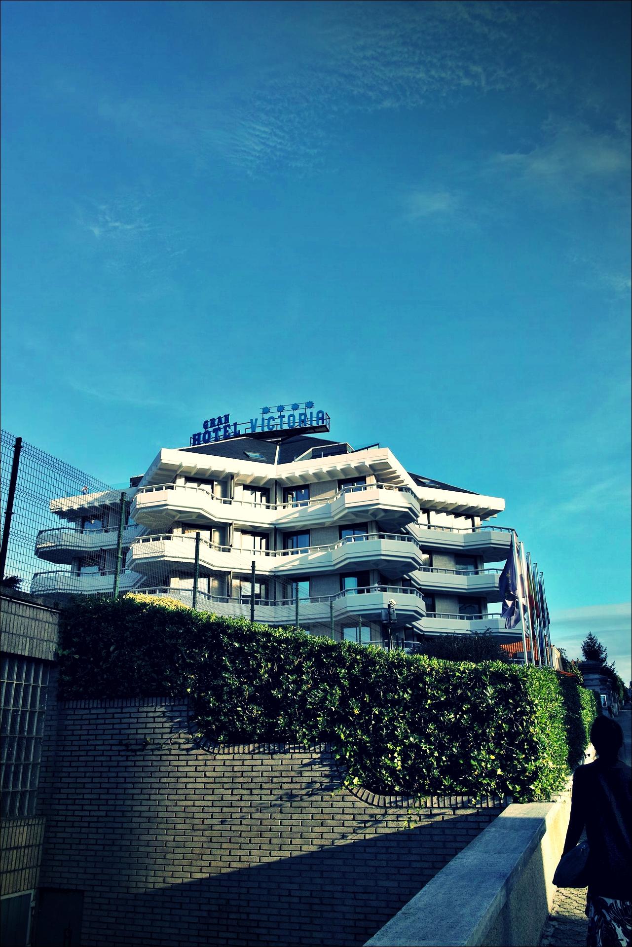 전경-'그란 호텔 빅토리아, 산탄데르, 스페인 (Gran Hotel Victoria, Santander, Spain)'