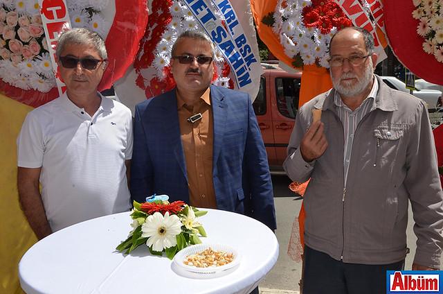 İsmail Hatiopoğlu, Raşit Kaya, Kemali Arıkan