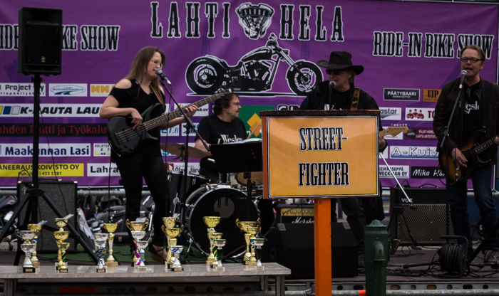 Lahti Helaride motorbike show