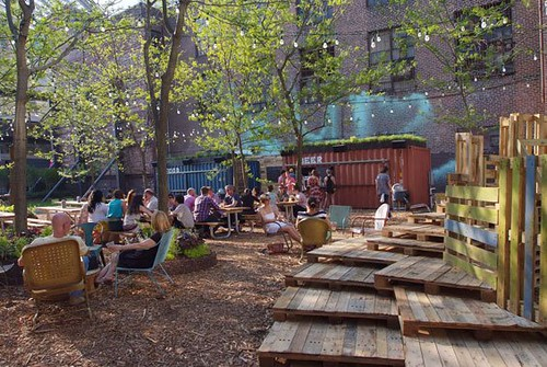 Pop Up Beer Garden, Philadelphia Horticultural Society