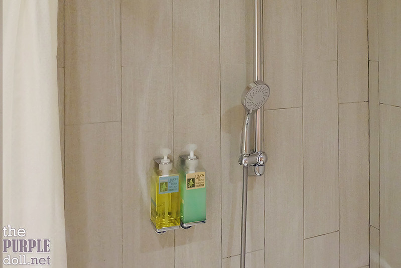 VIA Hotel Ximending Lemon Verbana Shower Gel and Shampoo