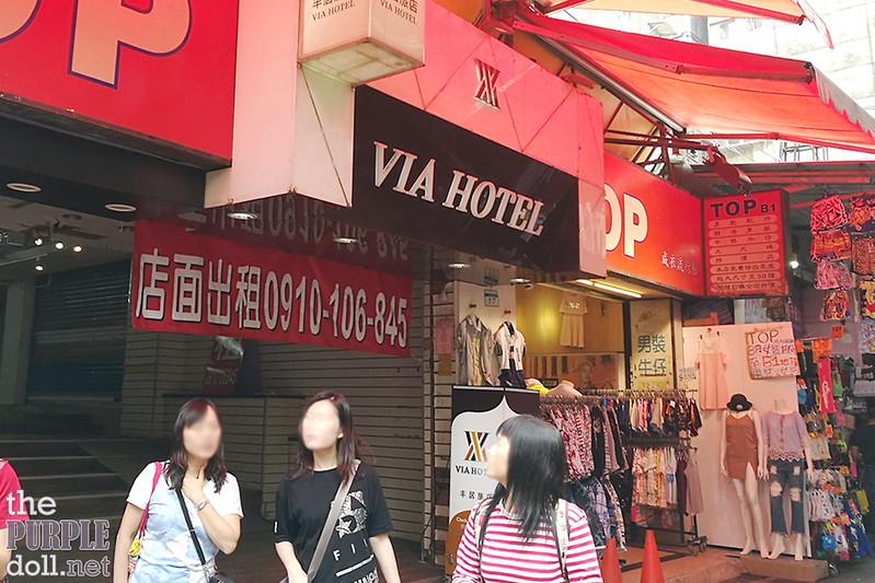 VIA Hotel Ximending Facade