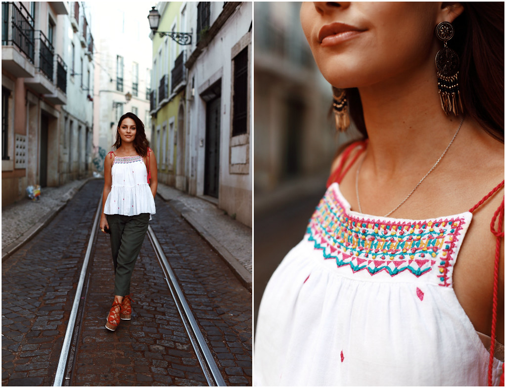 The Little Magpie Matalan Summer Outfits inspo Lisbon