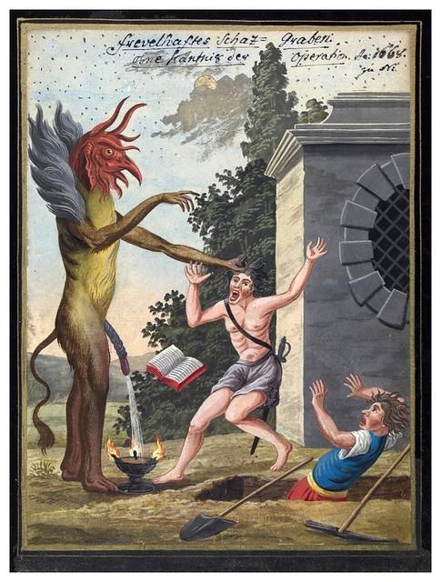 005- Representacion demoniaca-Compendium rarissimum…1775- Wellcome Library