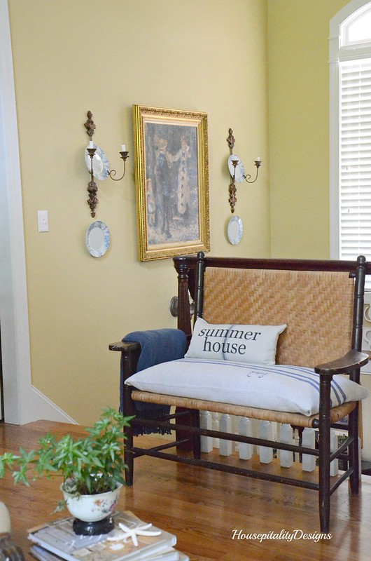 Great Room Vintage Settee-Housepitality Designs
