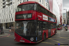 Wrightbus NRM NBFL - LTZ 1204 - LT204 - Clapton Pond 38 - Arriva - London 2017 - Steven Gray - IMG_9316