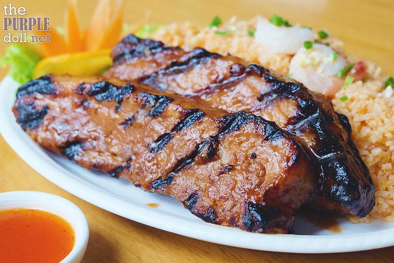 BBQ Spareribs Dinner (P580)