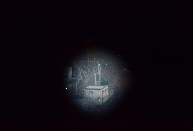kyoto tower binoculars