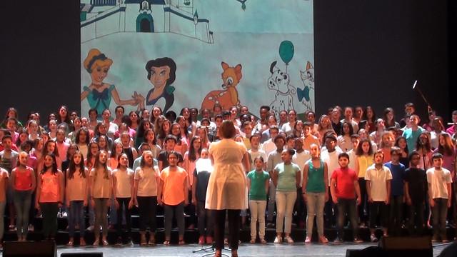 Concert « Chante Aquitaine » donné par 400 élèves de l'académie