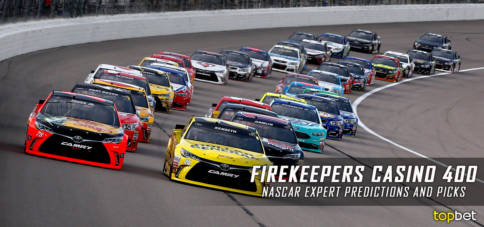 MENCS 2017 Round 15 – FireKeepers Casino 400 – All Racing In The World