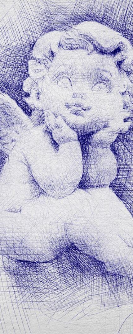 Pen Sketch Photoshop action pencil sketch or pen