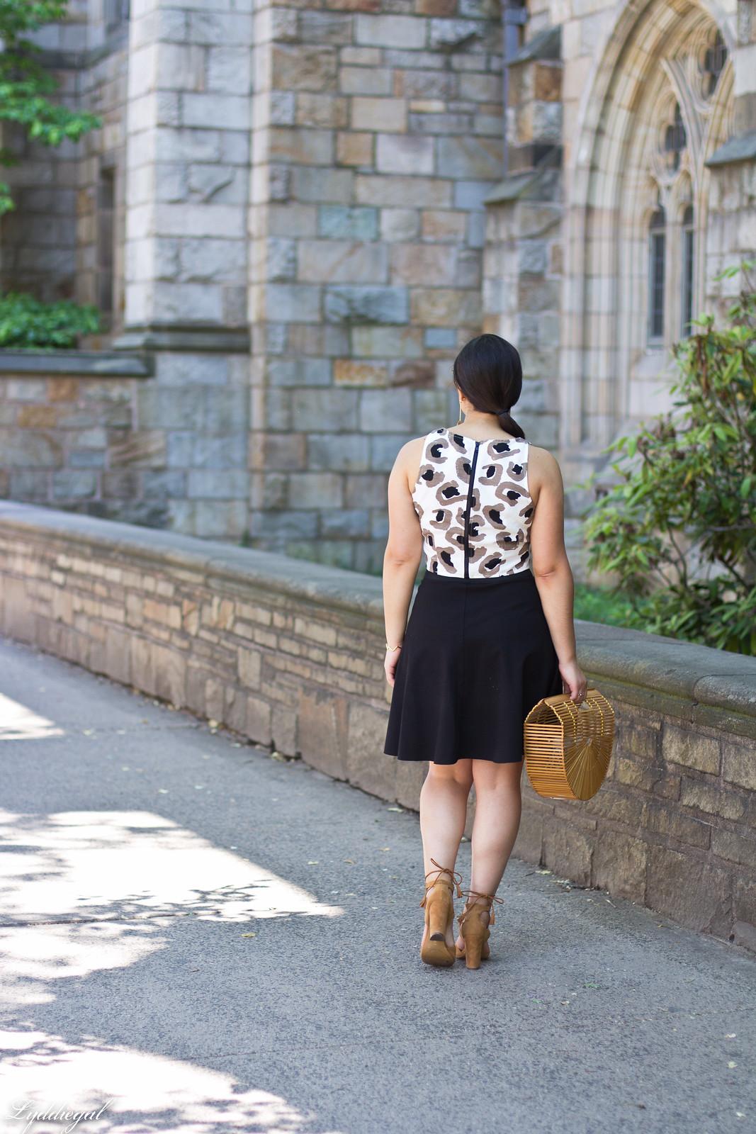 leopard crop top, black skirt, bamboo half moon bag-4.jpg