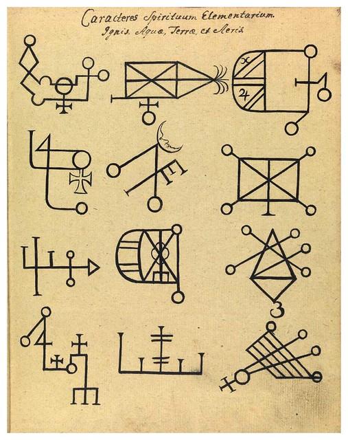 002-Signos cabalisticos-Compendium rarissimum…1775- Wellcome Library