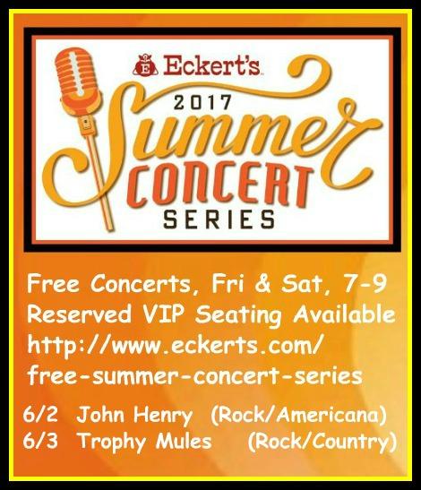 Eckert's Summer Concerts 6-2, 6-3-17