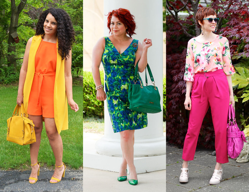 8 Stylish Over 40 Fashion Bloggers Wearing Their Favourite Colours